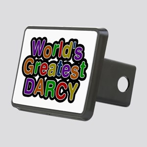 World's Greatest Darcy Rectangular Hitch Cover
