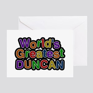 World's Greatest Duncan Greeting Card