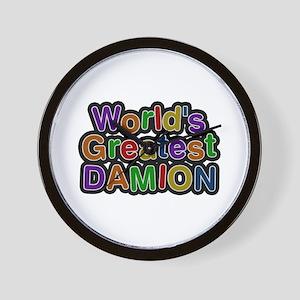 World's Greatest Damion Wall Clock