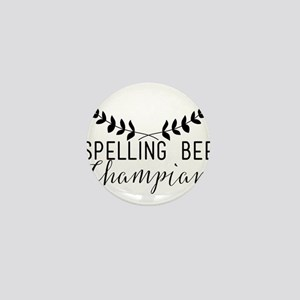 Spelling Bee Champian Mini Button
