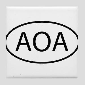 AOA Tile Coaster