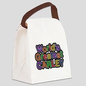 Worlds Greatest Carley Canvas Lunch Bag