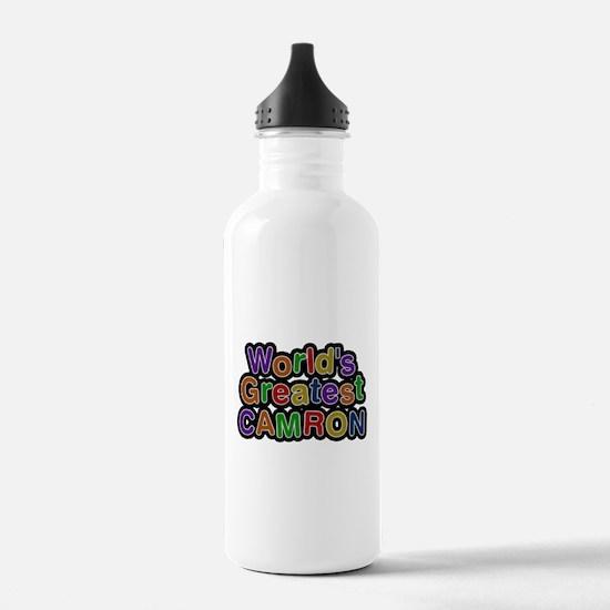 Worlds Greatest Camron Water Bottle