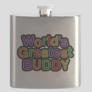 Worlds Greatest Buddy Flask