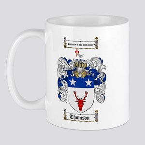 Thomson Coat of Arms Mug