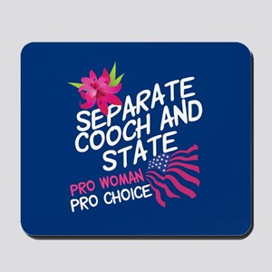 Cooch and State Mousepad