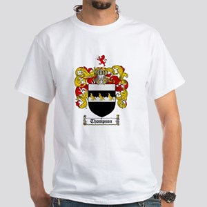 Thompson Coat of Arms White T-Shirt