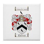 Thomas Coat of Arms Tile Coaster