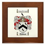 Thomas Coat of Arms Framed Tile