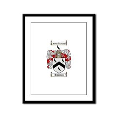 Thomas Coat of Arms Framed Panel Print