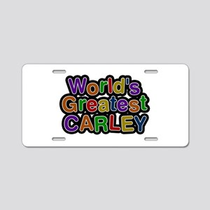 World's Greatest Carley Aluminum License Plate