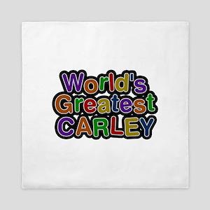 World's Greatest Carley Queen Duvet