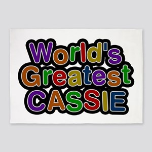 World's Greatest Cassie 5'x7' Area Rug