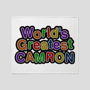 World's Greatest Camron Throw Blanket
