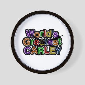 World's Greatest Carley Wall Clock
