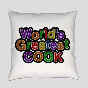 World's Greatest Cook Everyday Pillow