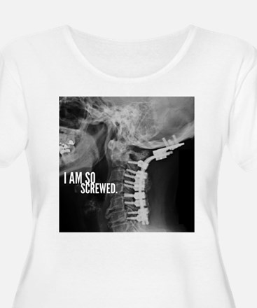 So Screwed X-ray Plus Size T-Shirt