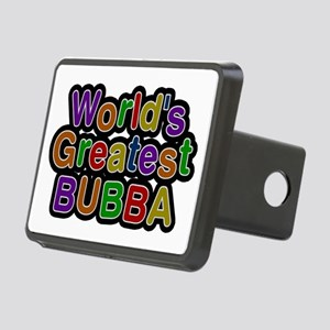 World's Greatest Bubba Rectangular Hitch Cover