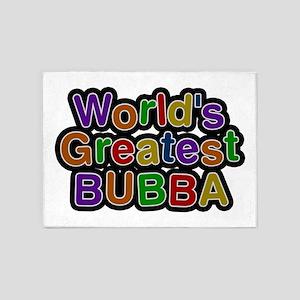 World's Greatest Bubba 5'x7' Area Rug