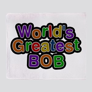 World's Greatest Bob Throw Blanket