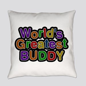 World's Greatest Buddy Everyday Pillow