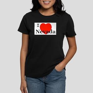 I Love Nevada Ash Grey T-Shirt