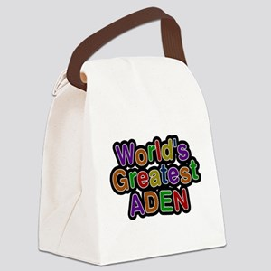 Worlds Greatest Aden Canvas Lunch Bag