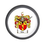 Tate Coat of Arms Wall Clock