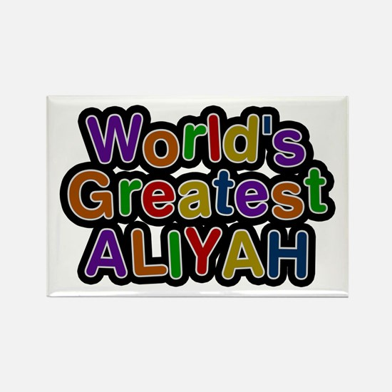 World's Greatest Aliyah Rectangle Magnet