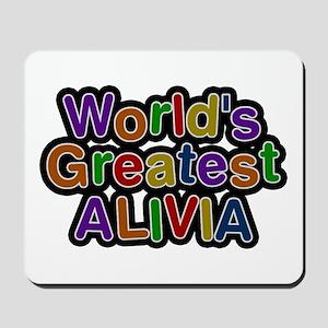 World's Greatest Alivia Mousepad