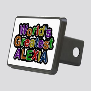 World's Greatest Alexia Rectangular Hitch Cover