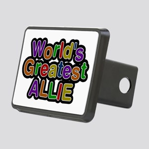 World's Greatest Allie Rectangular Hitch Cover