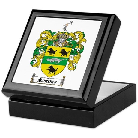 Sweeney Coat of Arms Keepsake Box