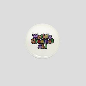 World's Greatest Ali Mini Button