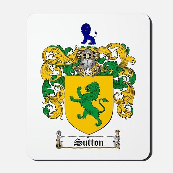 Sutton Coat of Arms Mousepad