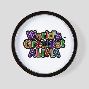 World's Greatest Alivia Wall Clock