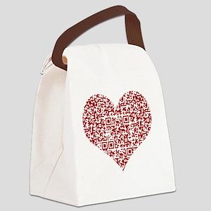I Love You! I love you! I love yo Canvas Lunch Bag