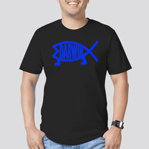 Original Darwin Fish (Navy) T-Shirt