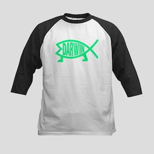 Original Darwin Fish (Seafoam) Baseball Jersey
