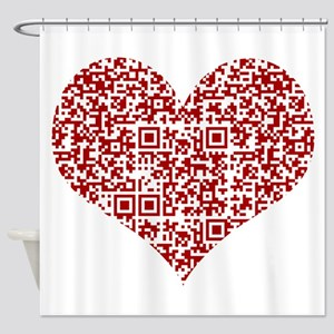 I Love You! I love you! I love you! Shower Curtain