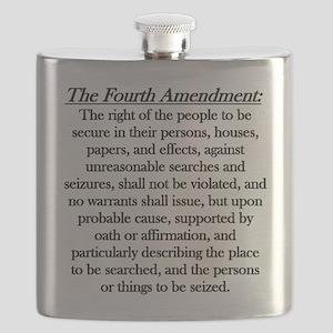 4th Amendment Flask