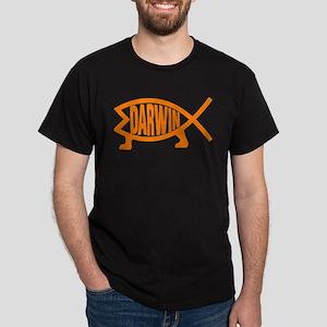 Original Darwin Fish (Light Orange) T-Shirt