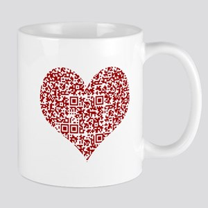 I Love You! I love you! I love you! QR Code Mugs