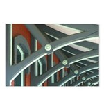 Railroad Station Detail Postcards (package Of 8)