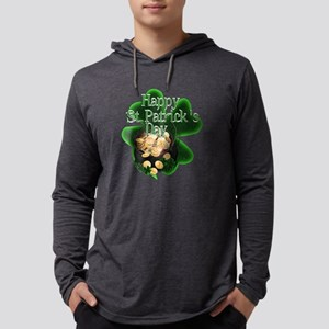 St Patrick's Day Pot of Gold Long Sleeve T-Shirt