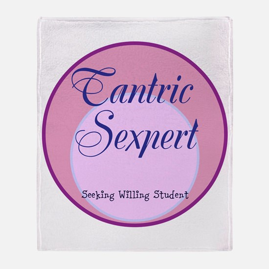 Tantric Sexpert Throw Blanket