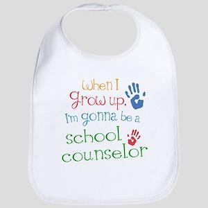 school_counselor_future_color Baby Bib