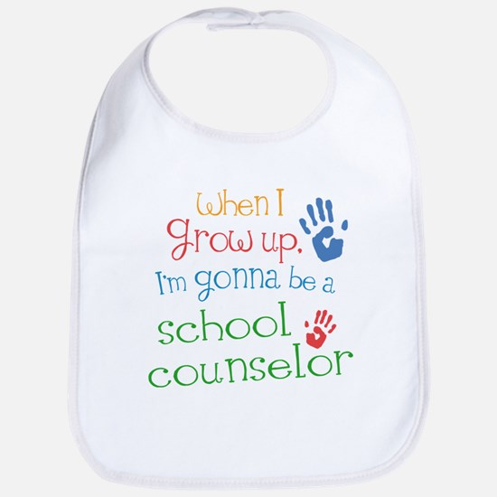 school_counselor_future_color Baby Bib