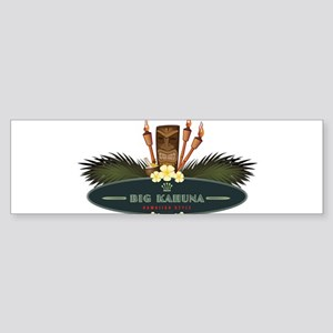 Big Kahuna Tiki Sticker (Bumper)