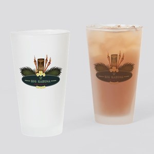 Big Kahuna Tiki Drinking Glass